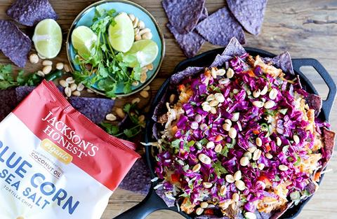 Sweet and Spicy Thai Chicken Nachos