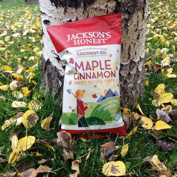 Jackson's Honest unveils Maple Cinnamon Sweet Potato Chips