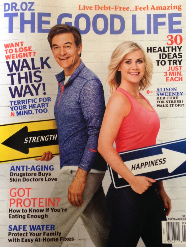 Jackson's Honest Purple Heirloom Potato Chips land in Dr. Oz The Good Life magazine