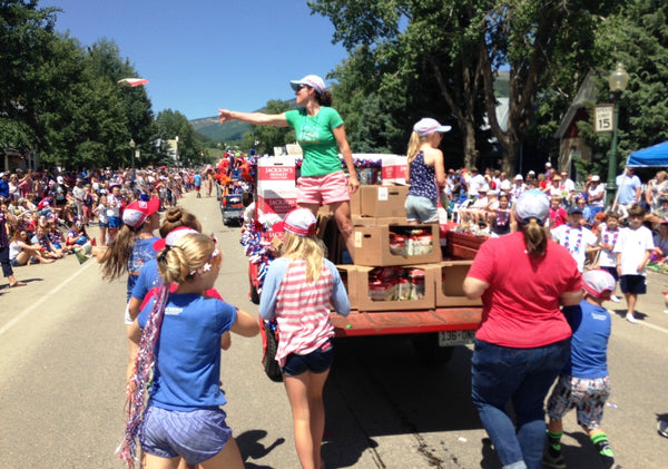 July 4 Parade in Crested Butte