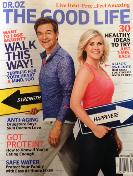 Dr. Oz The Good Life: Sept. 2016