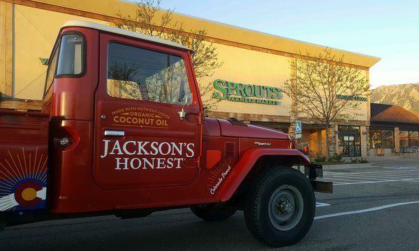 Jackson's Honest Truck at Sprouts Farmers Market