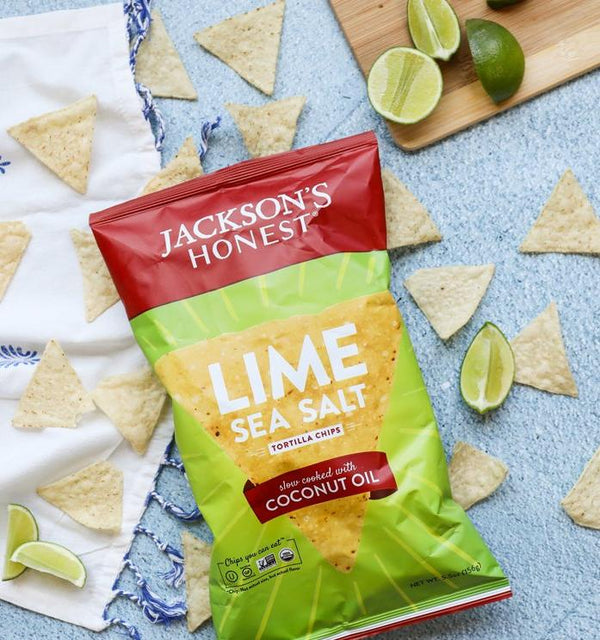Lime & Sea Salt Tortilla Chips