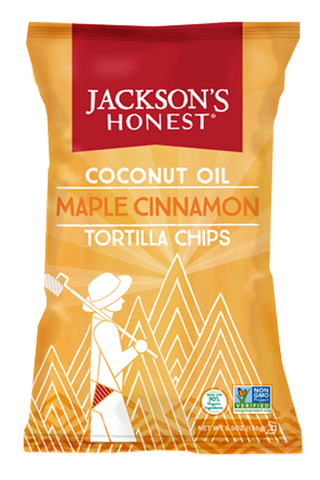 Maple Cinnamon Tortilla Chips