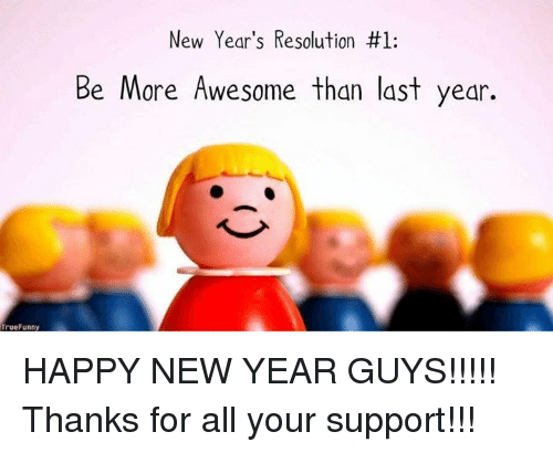 It's not too late to make a New Year Resolution!