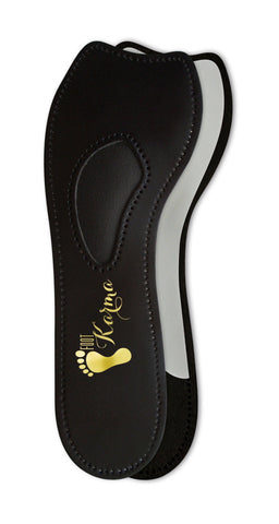 Half Moon Leather High Heel Insoles