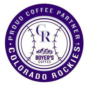 BOYER'S COFFEE NAMED THE PROUD COFFEE PARTNER OF THE COLORADO ROCKIES