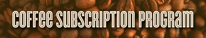 Boyer's Coffee Subscription Program