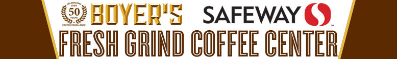 Boyer's Coffee Fresh Grind Coffee Center at Safeway Stores