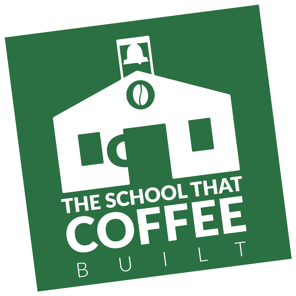 The School That Coffee Built Logo
