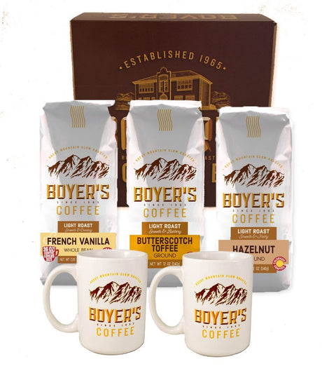 Flavored Coffee Lover's Gift Set