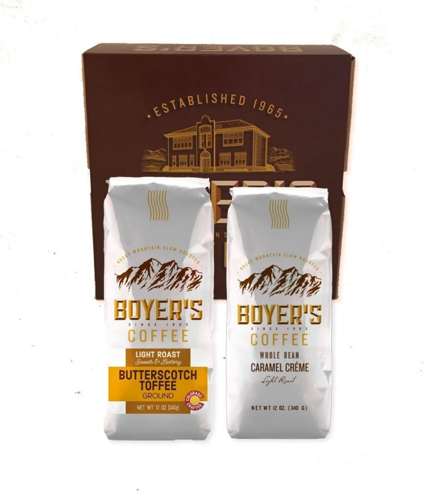 Butterscotch Toffee & Caramel Cream Flavored Coffee Gift Box - Whole Bean - Gifts