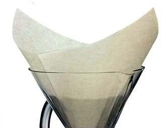 Chemex Filters - White Pre-Folded Squares - 100 Ct - Fs-100