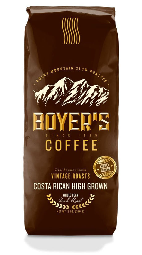Costa Rican High Grown Coffee