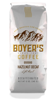 Hazelnut Decaf Coffee - 12 Oz / Medium Grind