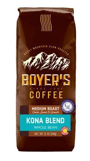 Kona Blend Coffee - 12 Oz / Whole Bean
