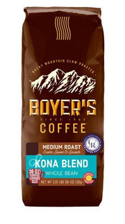 Kona Blend Coffee - 2.25 Lb / Whole Bean