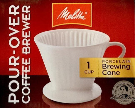 Melitta Pour Over Coffee Maker - #2 Porcelain - Home Brewers