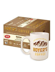 Special Boyers Only Offer - Coffee Mug - Kona Blend Single Serve 2.0 Cups - Box Of 12 - Surname