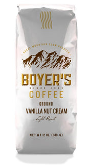 Vanilla Nut Cream Coffee - 12 Oz / Medium Grind