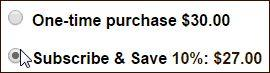Boyer's Coffee Subscribe and Save