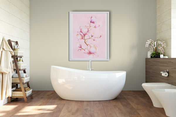 Blossom wall art poster, printable