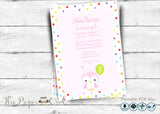 Owl birthday party invite for a girl, personalize yourself - The Paper Owl