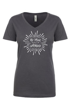 "Women's ""Ka-Pow"" V-Neck Tee"