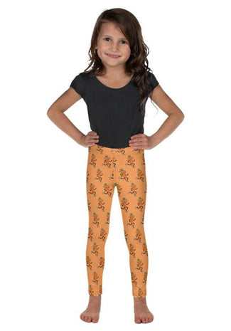 Kids Throwback-Carrot Leggings