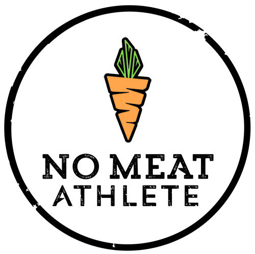 No Meat Athlete Car Magnet