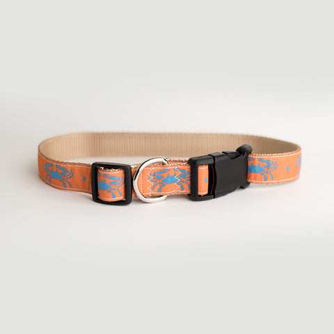 Chapin Crab Dog Collar