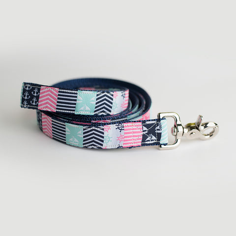 Nantucket Preppy Leash