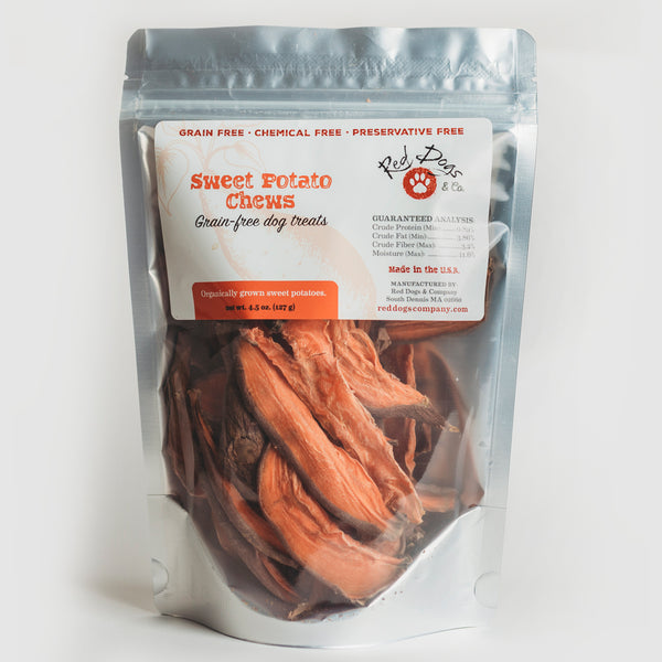 Sweet Potato Chews Grain Free Dog Treats