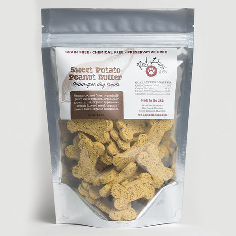 Sweet Potato Peanut Butter Grain Free Dog Treats