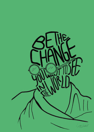 Be the Change - Green