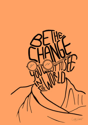 Be the Change - Orange