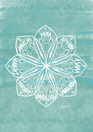 Eight Limbs of Yoga - Aqua