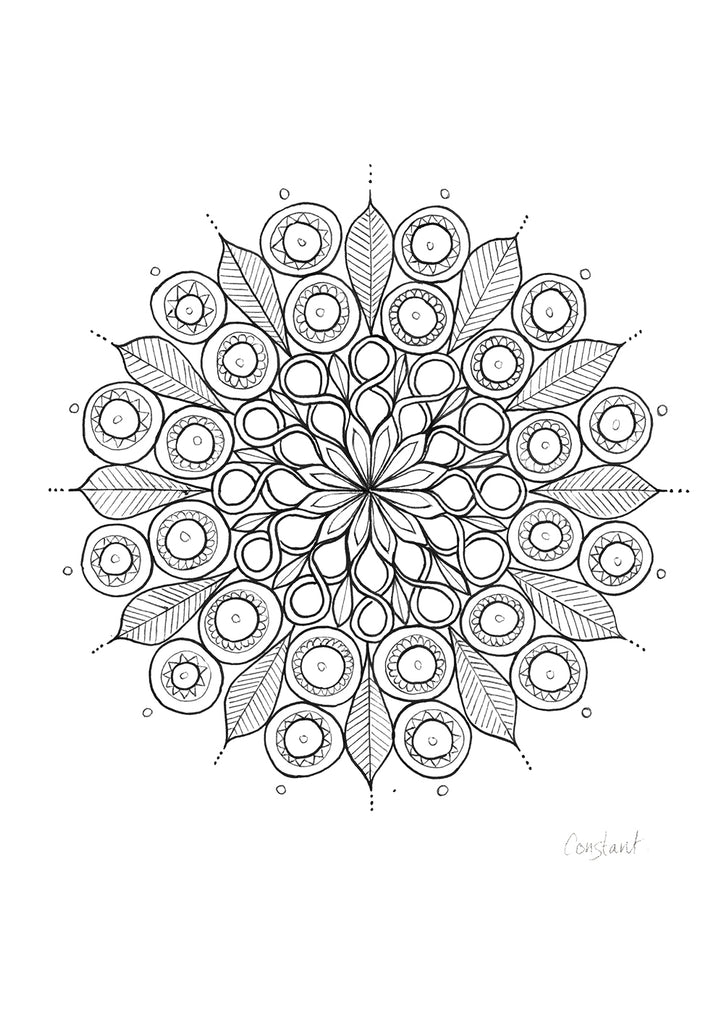 Figure of 8 Mandala