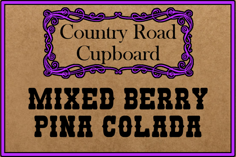 Mixed Berry Pina Colada Wine Slush Mix