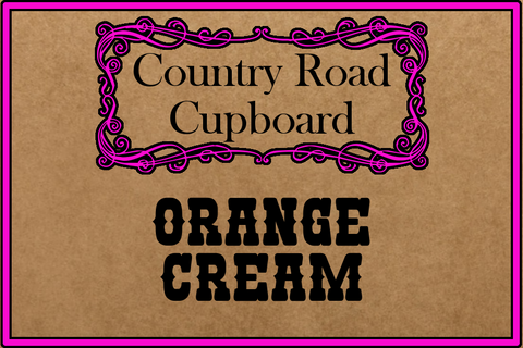 Orange Cream Dessert Dip Mix