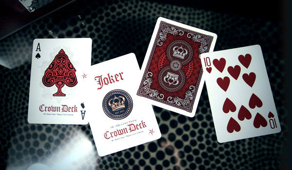 The Crown Deck : Red Luxury Edition
