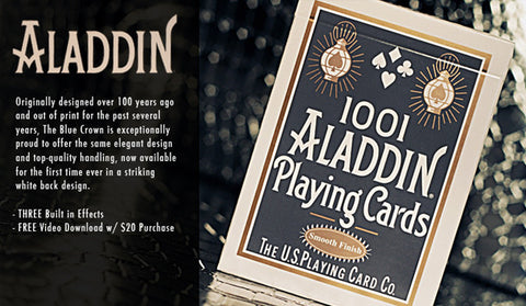 White Aladdin Deck