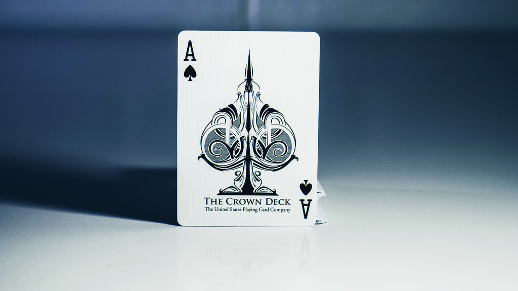 362f218f557 Crown Deck (SNOW)   Limited Edition - The Blue Crown - Get Your Magic  Tricks Here