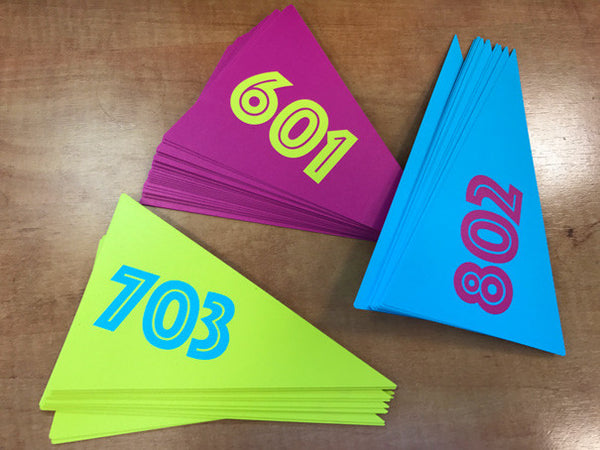Polypropylene Printed Flags