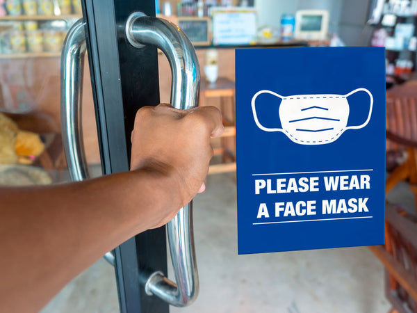 Face Mask Stickers example