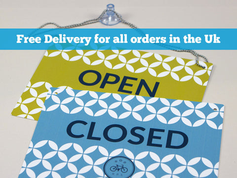 Plastic Open & Closed Signs