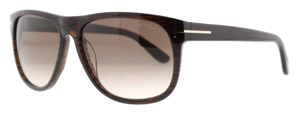 66c74f13f5 ... Dark Brown Gradient Men s Squared Sunglasses. Tom Ford TF 236 OLIVIER  50P 58mm. Loading zoom