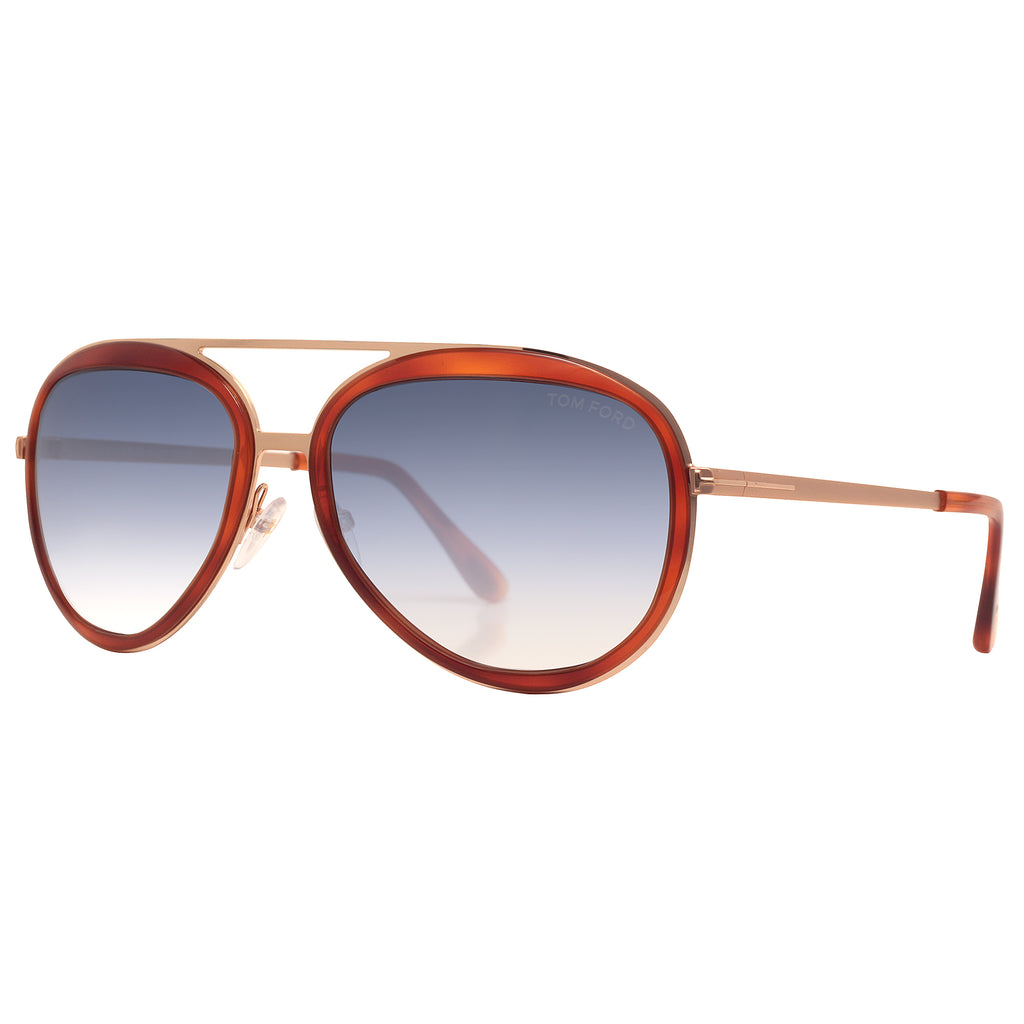 781ed1fd623a1 ... Brown Blue Gradient Aviator Sunglasses. Tom Ford FT468 56W 58mm.  Loading zoom
