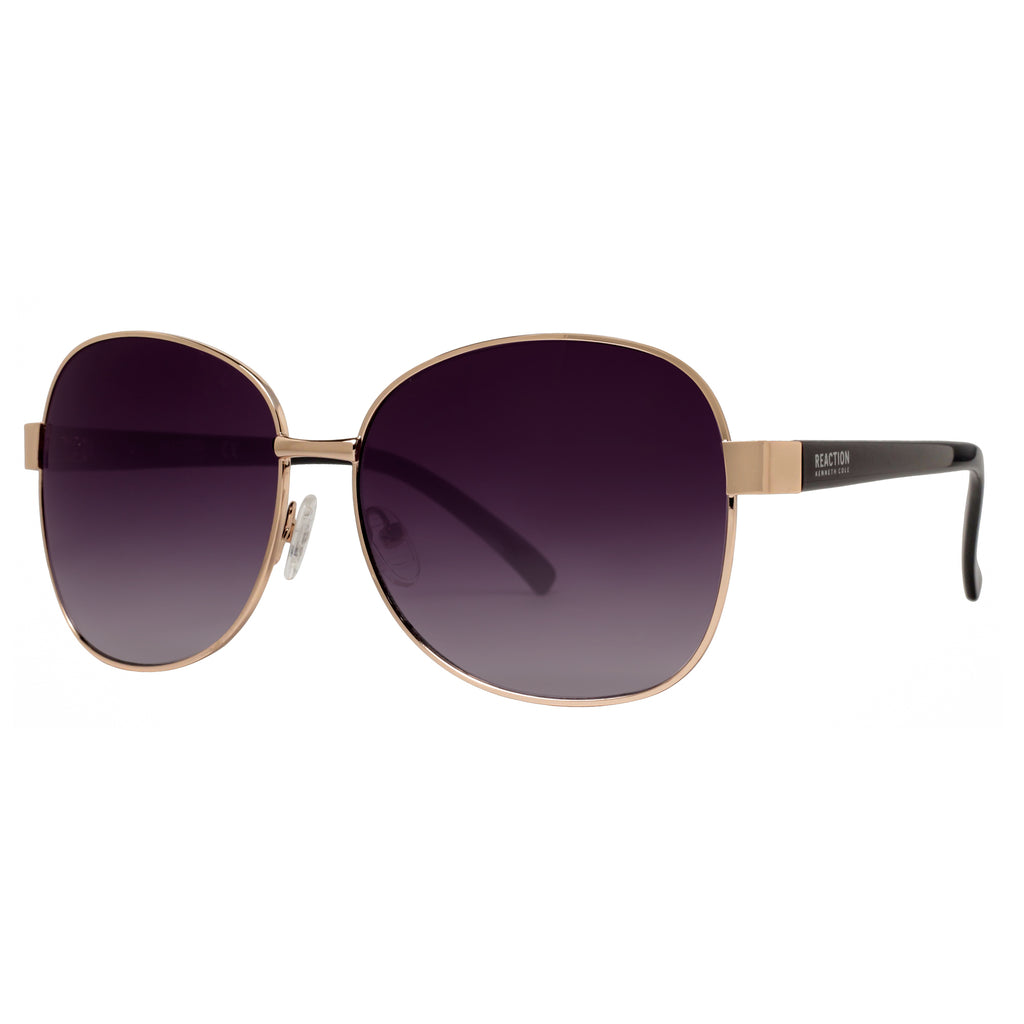 b0ac3a398aaa65 ... Women s Gold Grey Gradient Square Sunglasses. Kenneth Cole Reaction  KC1284 32B 59mm. Loading zoom