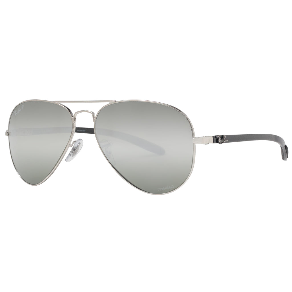 8352ce6b12a ... Polarized Silver Mirror Chromance Sunglasses. Ray-Ban RB 8317 003 5J  58mm. Loading zoom